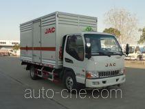 JAC HFC5045TQPXZ грузовой автомобиль для перевозки газовых баллонов (баллоновоз)