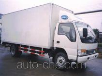 JAC HFC5056XXYK1 box van truck