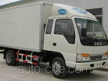 JAC HFC5041XXYK1R1D box van truck