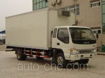 JAC HFC5083XLCKR1 refrigerated truck