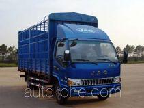 江淮牌HFC5056CCYP91K1C6V型仓栅式运输车