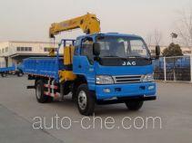 JAC HFC5125JSQZ грузовик с краном-манипулятором (КМУ)