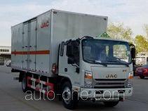 JAC HFC5140XQYVZ грузовой автомобиль для перевозки взрывчатых веществ