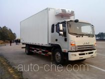 JAC HFC5142XLCP70K1E1 refrigerated truck