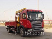 JAC HFC5161JSQP3K2A53F грузовик с краном-манипулятором (КМУ)