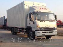 JAC HFC5162XYKP70K1E3V автофургон с подъемными бортами (фургон-бабочка)