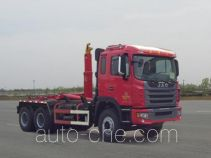JAC HFC5241ZXXP1K4E43F detachable body garbage truck