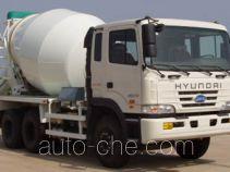 JAC HFC5250GJBL concrete mixer truck