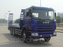 JAC HFC5251TPBK1R1LZT flatbed truck