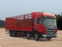 江淮牌HFC5311CCYP2K3G43F型仓栅式运输车