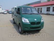 Electric crew cab cargo van