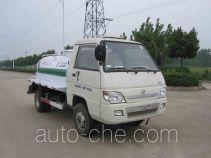 Foton Auman HFV5043GXWBJ rural biogas digesters sewage suction truck