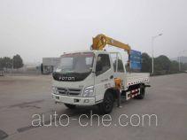 Foton Auman HFV5060JSQBJ4 truck mounted loader crane