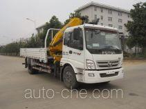 Foton Auman HFV5162JSQBJ4 truck mounted loader crane
