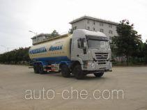 Foton Auman HFV5310GFLCQ4 low-density bulk powder transport tank truck