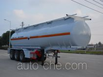 Foton Auman HFV9401GFW corrosive materials transport tank trailer