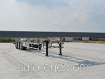 Foton Auman aluminium container trailer
