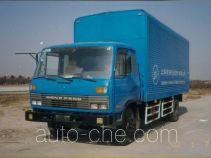 Huguang HG5141XXY box van truck