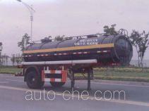 Huguang HG9151GHY chemical liquid tank trailer