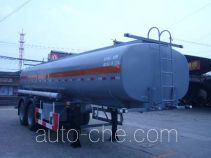 Huguang HG9283GFW corrosive materials transport tank trailer