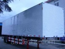 Huguang HG9331XXY box body van trailer