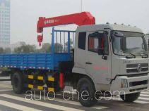 恒合牌HHR5161JSQ3DF型随车起重运输车