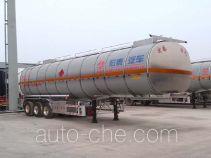 Zhengkang Hongtai HHT9400GRYD flammable liquid aluminum tank trailer