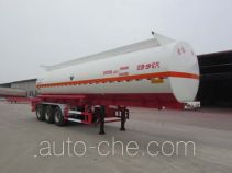 Corrosive materials transport tank trailer
