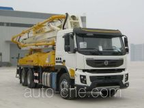 Shantui Chutian HJC5300THB concrete pump truck