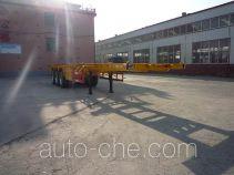Jinjunwei HJF9400TJZ container transport trailer