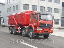 Bulk powder dump truck
