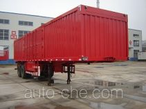 Jijun HJT9310XXY box body van trailer