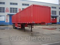Jijun HJT9320XXY box body van trailer