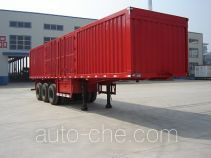 Jijun HJT9381XXY box body van trailer