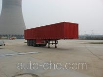Jijun HJT9390XXY box body van trailer