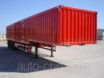 Jijun HJT9401XXY box body van trailer