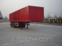 Jijun HJT9402XXY box body van trailer