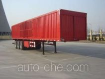 Jijun HJT9404XXY box body van trailer