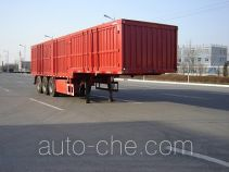 Jijun HJT9406XXY box body van trailer