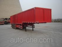 Jijun HJT9408XXY box body van trailer