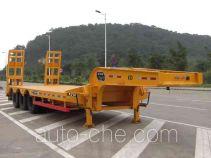 汇联牌HLC9390TDP型低平板半挂车