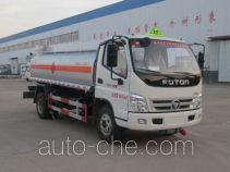 Danling HLL5090GJYB4 fuel tank truck