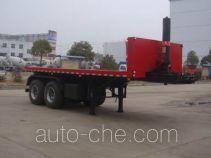 Heli Shenhu HLQ9350ZZXP flatbed dump trailer