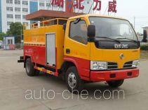 Zhongqi Liwei HLW5041GQX5EQ street sprinkler truck