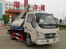 Zhongqi Liwei HLW5041GXE5BJ suction truck