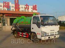 Zhongqi Liwei HLW5041GXW5QL sewage suction truck