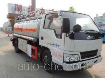 Zhongqi Liwei HLW5060GJY fuel tank truck