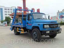 中汽力威牌HLW5100ZBS型摆臂式垃圾车