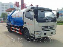 Zhongqi Liwei HLW5110GXWD sewage suction truck
