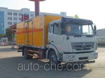 Zhongqi Liwei HLW5160XRYZZ flammable liquid transport van truck